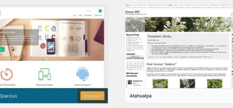 Neues WP Theme, Re-Launch Webseite – und Shop