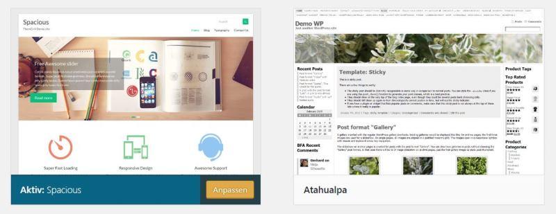neues wordpress theme atelier361